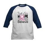 Faith Hope Breast Cancer Tee
