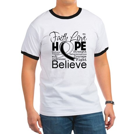 Faith Hope Carcinoid Cancer Ringer T