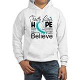 Faith Hope Cervical Cancer Hoodie