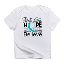Faith Hope Cervical Cancer Infant T-Shirt