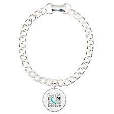 Faith Hope Cervical Cancer Bracelet