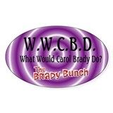 What Would Carol Brady Do? Decal