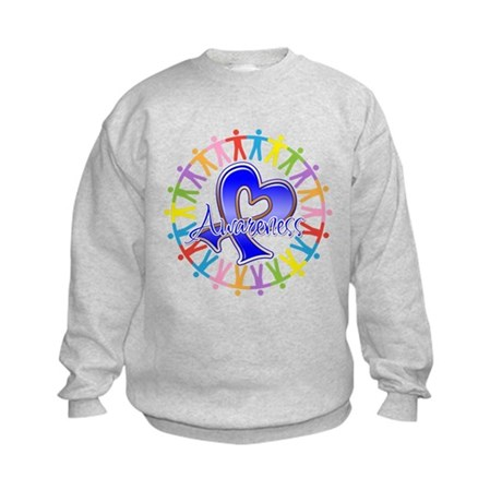 Rectal Cancer Unite Kids Sweatshirt