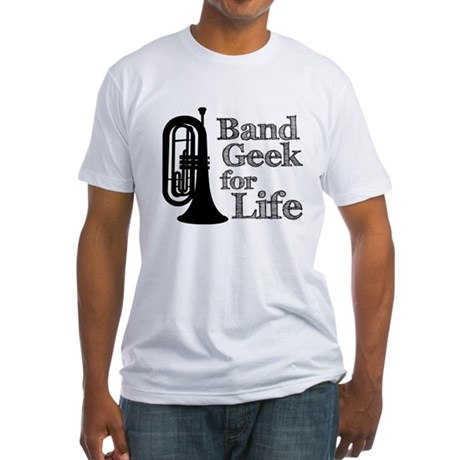 Baritone Band Geek Fitted T-Shirt