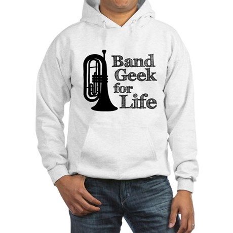 Baritone Band Geek Hooded Sweatshirt