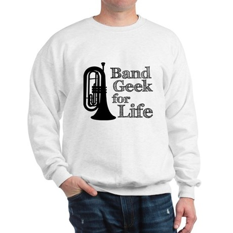 Baritone Band Geek Sweatshirt