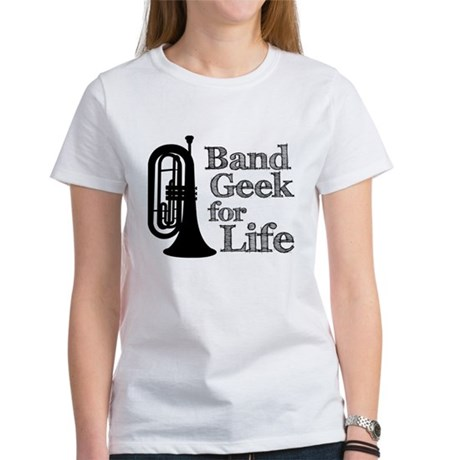 Baritone Band Geek Women's T-Shirt
