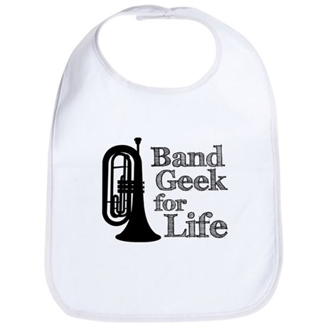 Baritone Band Geek Bib