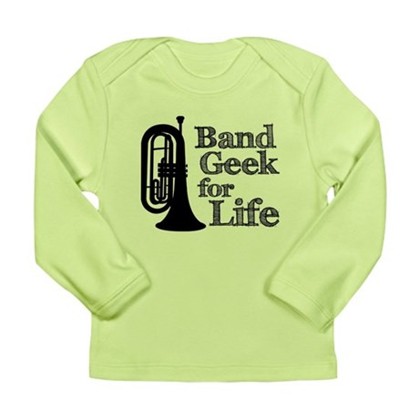 Baritone Band Geek Long Sleeve Infant T-Shirt