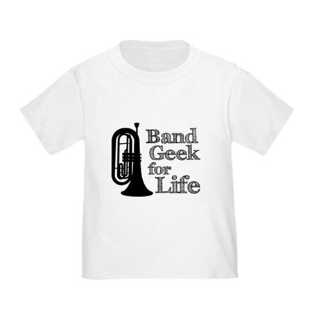 Baritone Band Geek Toddler T-Shirt