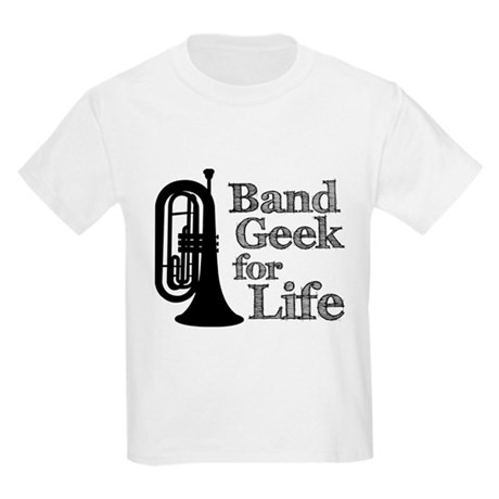 Baritone Band Geek Kids Light T-Shirt