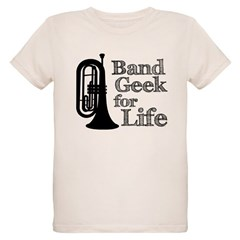 Baritone Band Geek Organic Kids T-Shirt
