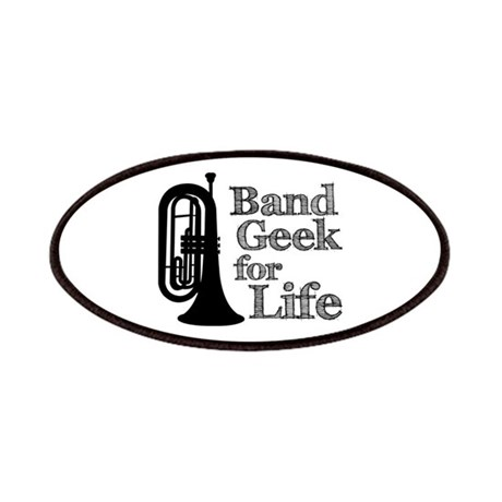 Baritone Band Geek Patches