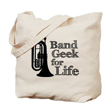 Baritone Band Geek Tote Bag