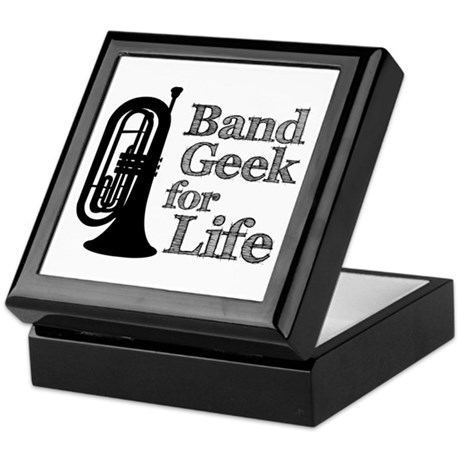 Baritone Band Geek Keepsake Box