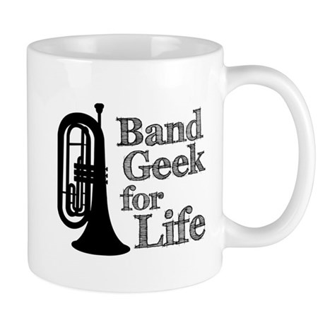 Baritone Band Geek Mug