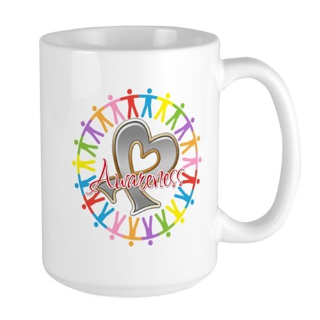 Parkinsons Disease Unite Large Mug