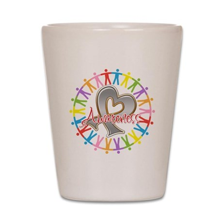 Parkinsons Disease Unite Shot Glass