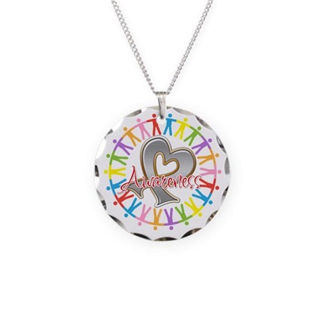 Parkinsons Disease Unite Necklace Circle Charm