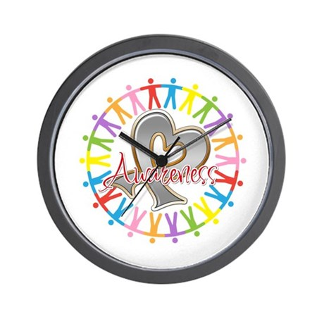 Parkinsons Disease Unite Wall Clock