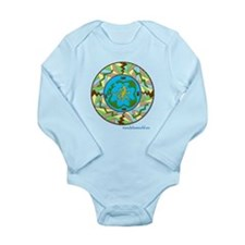 Inuit Mandala n1 Long Sleeve Infant Bodysuit