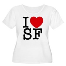 Cute I heart sf T-Shirt