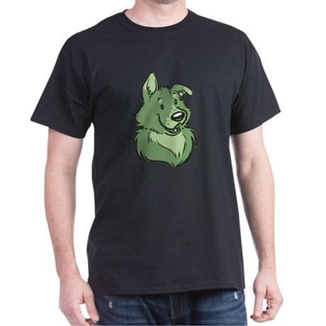 Pickles The Porch Dog Dark T-Shirt
