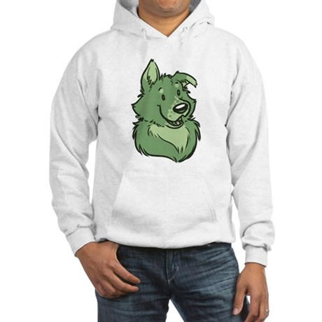 Pickles The Porch Dog Hooded Sweatshirt