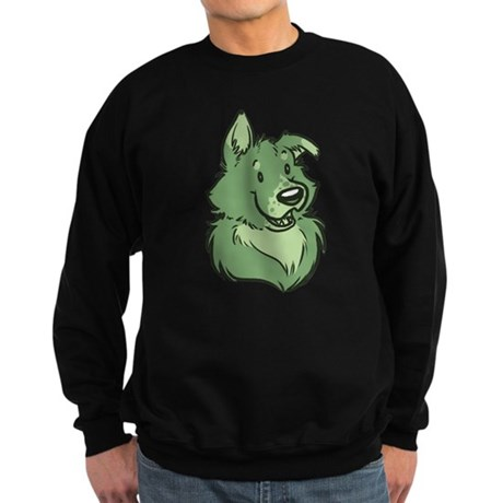 Pickles The Porch Dog Sweatshirt (dark)