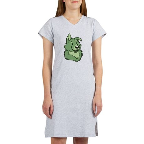 Pickles The Porch Dog Women's Nightshirt