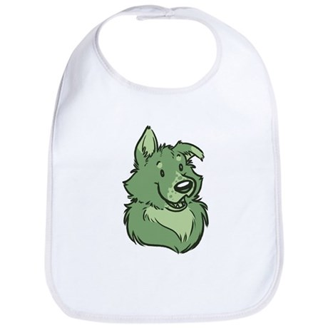 Pickles The Porch Dog Bib