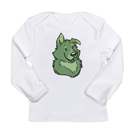 Pickles The Porch Dog Long Sleeve Infant T-Shirt