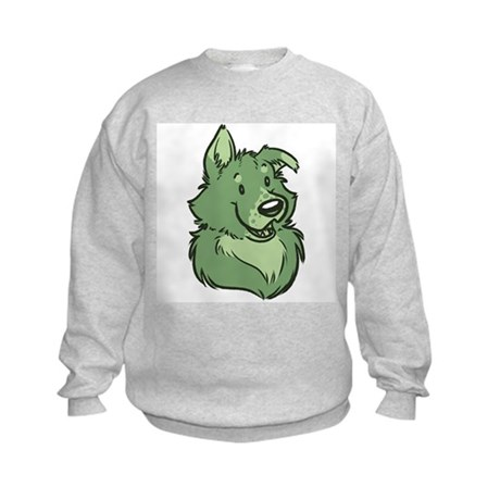 Pickles The Porch Dog Kids Sweatshirt