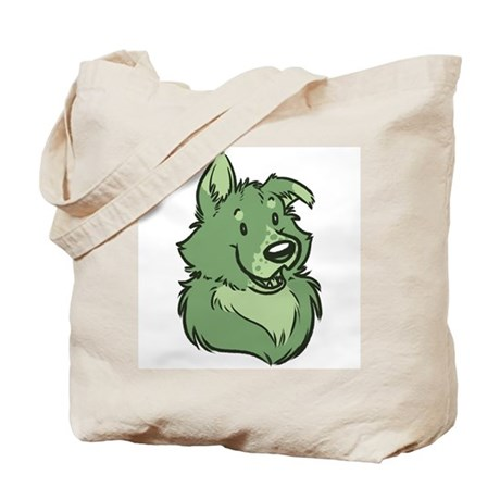 Pickles The Porch Dog Tote Bag