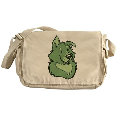 Pickles The Porch Dog Messenger Bag