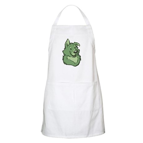 Pickles The Porch Dog Apron