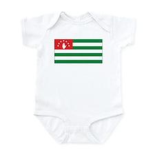 Abkhazia Flag Infant Bodysuit