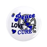 Peace Love Cure ALS 2 3.5&quot; Button