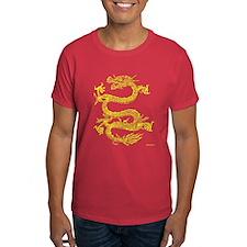 Chinese Dragon Men's T-Shirt (Red)