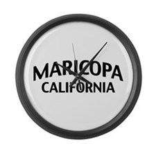 Maricopa California Large Wall Clock