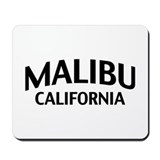 Malibu California Mousepad