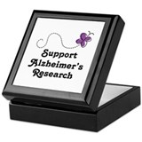 Support Alzheimer's Research Keepsake Box
