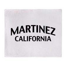 Martinez California Throw Blanket