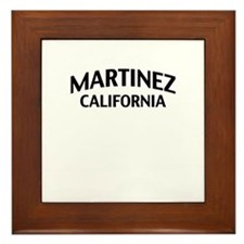Martinez California Framed Tile