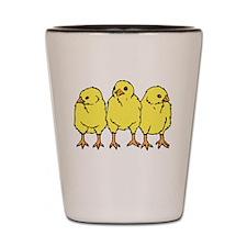 Baby Chicks Shot Glass