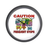 STOP THE CAR Wall Clock