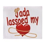 Jada Lassoed My Heart Throw Blanket