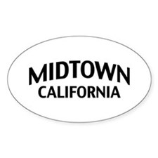 Midtown California Decal