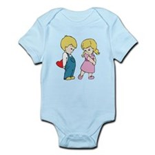 Kid's Valentine Infant Bodysuit