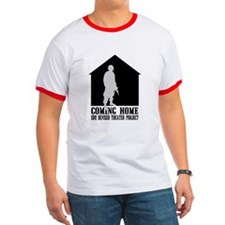 Coming Home White Front T